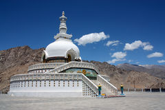 Shanti Stupa Fotografie Stock Libere da Diritti