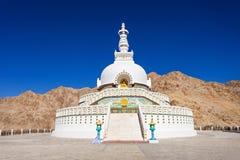 Shanti Stupa immagine stock libera da diritti