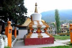 Shanti Stupa Foto de archivo libre de regalías