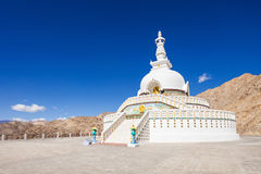 Shanti Stupa Royalty Free Stock Photo
