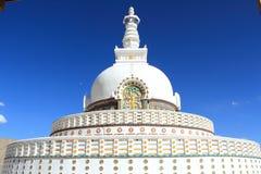 Shanti Stupa(Ladakh). Royalty Free Stock Image