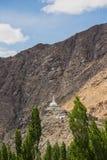 Shanti Stupa, Leh Ladakh Στοκ Εικόνες