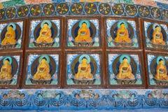 Shanti Stupa in Leh, Ladakh, India Fotografie Stock