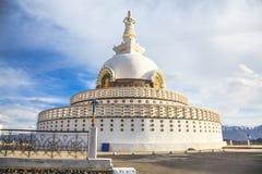 Shanti Stupa Stock Photography