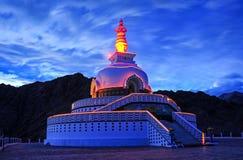 Shanti Stupa Royalty Free Stock Photos