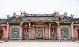 Shantou, China-octubre 21,2017: El estilo chino del edificio, imagen de archivo