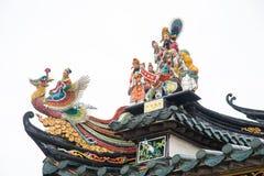 Shantou, Cina-ottobre 21,2017: Lo stile cinese della costruzione, Immagini Stock Libere da Diritti
