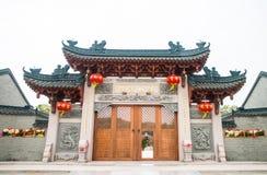 Shantou, Cina-ottobre 21,2017: Lo stile cinese della costruzione Fotografia Stock