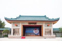Shantou, październik 21,2017: Chiński budynku styl dla C Zdjęcie Royalty Free