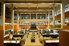 Shantou universitetarkiv, Guangdong, Chinaï ¼ Œthe som mest härliga universitetarkiv i Asien sponsrade vid Li Ka Shing Foundation Arkivbild