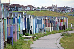 Shanty beach huts. Royalty Free Stock Photo