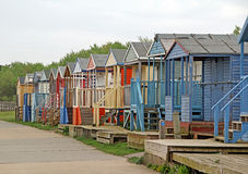 Shanty beach huts Stock Photography
