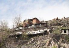 Shanty houses Stock Photos