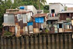 Shanty houses in Saigon Stock Image