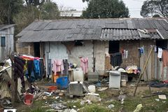 Shanty town Royalty Free Stock Image
