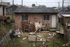 Shanty town Stock Image