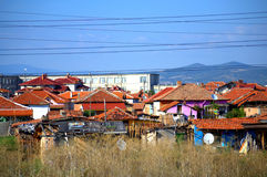 Shanty town Bulgaria Stock Images