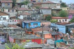Shanty town Maksuda,Varna Royalty Free Stock Image