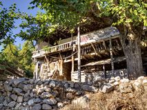 Shanty on wat to Mount Tahtali, Turkey Stock Images