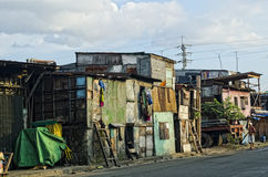 Shantytown Stock Image