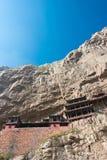 SHANXI, ΚΊΝΑ - 18 του Σεπτεμβρίου 2015: Κρεμώντας ναός (ναός Xuankong) Α Στοκ Φωτογραφία
