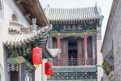 SHANXI, ΚΊΝΑ - 07 του Σεπτεμβρίου 2015: Μέγαρο Caojia διάσημος ένας ιστορικός Στοκ Εικόνες