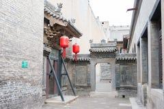 SHANXI, ΚΊΝΑ - 06 του Σεπτεμβρίου 2015: Μέγαρο Qujia διάσημος ένας ιστορικός Στοκ Φωτογραφίες