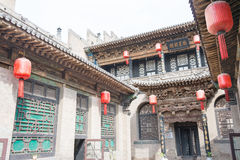 SHANXI, ΚΊΝΑ - 06 του Σεπτεμβρίου 2015: Μέγαρο Qujia το διάσημο ιστορικό S Στοκ εικόνες με δικαίωμα ελεύθερης χρήσης