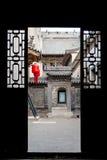 SHANXI, ΚΊΝΑ - 06 του Σεπτεμβρίου 2015: Μέγαρο Qujia το διάσημο ιστορικό S Στοκ Εικόνες