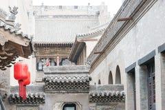 SHANXI, ΚΊΝΑ - 06 του Σεπτεμβρίου 2015: Μέγαρο Qujia το διάσημο ιστορικό S Στοκ Εικόνα