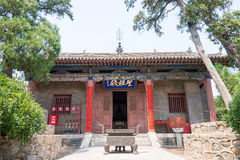 SHANXI, CHINA - Aug 24 2015: Changping Guandi Temple. a famous. Historic site in Yuncheng, Shanxi, China stock images