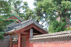 SHANXI, CHINA - Aug 24 2015: Changping Guandi Temple. a famous. Historic site in Yuncheng, Shanxi, China stock photos