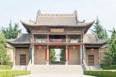 SHANXI, CHINA -  Aug 23 2015: Emperor Shun Tomb Soenic Spot. a f Stock Photos