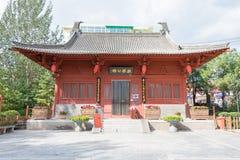 SHANXI, CHINA - 11 de septiembre 2015: Di Renjie Memorial Hall en Tanghu Foto de archivo
