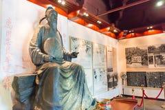 SHANXI, CHINA - 11 de septiembre 2015: Di Renjie Statue de Di Renjie Mem Foto de archivo