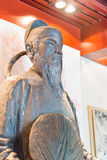 SHANXI, CHINA - Sept. 11 2015: Di Renjie Statue von Di Renjie Mem Stockfotografie