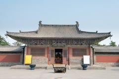 SHANXI, CHINA - 21 Sept. 2015: Fahuatempel beroemd Historisch S Royalty-vrije Stock Afbeeldingen