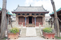 SHANXI, CHINA - Sept 05 2015: Jingsheng Confucian Temple. a famo Royalty Free Stock Photography