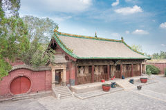 SHANXI, CHINA - Sept 03 2015: Shuanglin Temple(UNESCO World Heritage site). a famous historic site in Pingyao, Shanxi, China. stock photos