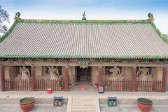 SHANXI, CHINA - Sept 03 2015: Shuanglin Temple(UNESCO World Heri. Tage site). a famous historic site in Pingyao, Shanxi, China Royalty Free Stock Photo