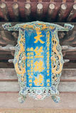 SHANXI, CHINA - 03 Sept. 2015: Shuanglintempel (Unesco-Wereld Heri Stock Foto's