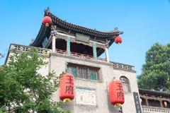 SHANXI, CHINA - Sept. 05 2015: Wang Family Courtyard ein berühmtes h lizenzfreies stockbild