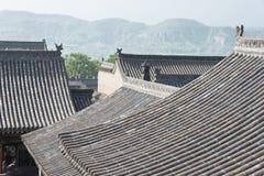 SHANXI, CHINA - Sept. 05 2015: Wang Family Courtyard ein berühmtes h Stockbilder