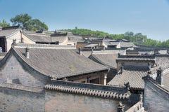 SHANXI, CHINA -  Sept 05 2015: Wang Family Courtyard. a famous h Royalty Free Stock Photo