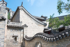SHANXI, CHINA -  Sept 05 2015: Wang Family Courtyard. a famous h Royalty Free Stock Images