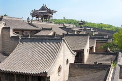 SHANXI, CHINA -  Sept 05 2015: Wang Family Courtyard. a famous h Stock Images