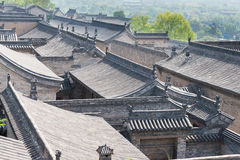 SHANXI, CHINA - Sept 05 2015: Wang Family Courtyard um h famoso Fotografia de Stock