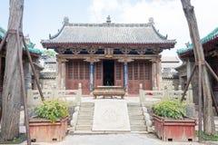 SHANXI, CHINE - septembre 05 2015 : Temple de confucianiste de Jingsheng un famo Photographie stock libre de droits