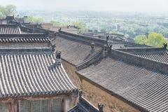 SHANXI, CHINE - septembre 05 2015 : Wang Family Courtyard un h célèbre Images stock