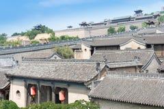 SHANXI, CHINE - septembre 05 2015 : Wang Family Courtyard un h célèbre Photo libre de droits